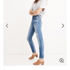 Madewell - Tall Rigid High Rise Skinny Jeans